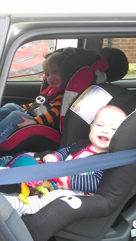 Rearfacing Toddlers!