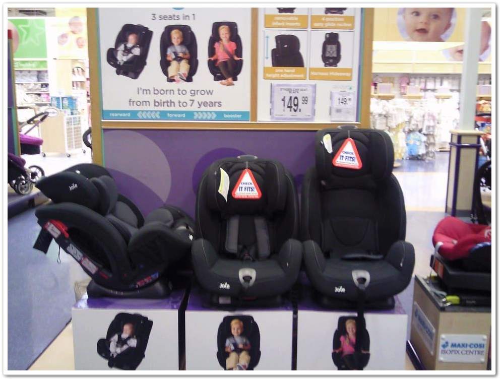 The 'Joie Stages' now @ Babies R Us | A Rear Facing Family